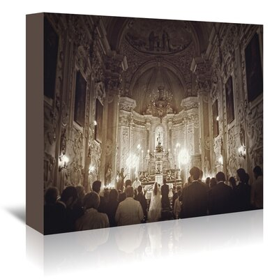 Americanflat 'Wedding in Sicily' by Golie Miamee Photographic Print Wrapped on Canvas