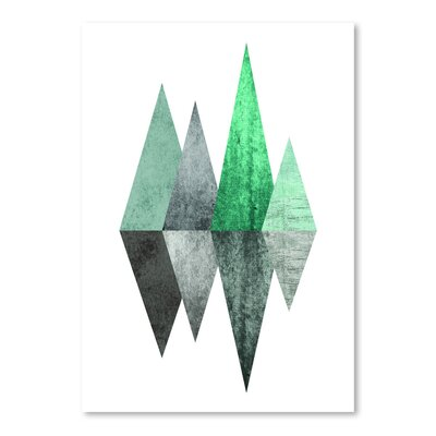 Americanflat 'Geometric Art 8' by Pop Monica Graphic Art