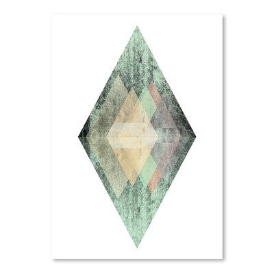 Americanflat 'Geometric Art 6' by Pop Monica Graphic Art
