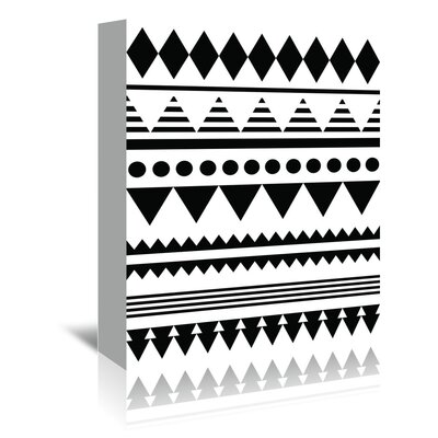 Americanflat 'Geometric Art 12' by Pop Monica Graphic Art Wrapped on Canvas