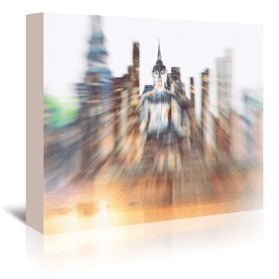 Americanflat 'Wat Phra II' by Golie Miamee Photographic Print Wrapped on Canvas