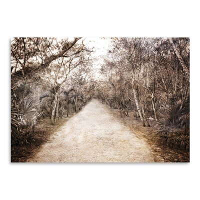 Americanflat 'Walk in Playa Mexico' by Golie Miamee Photographic Print