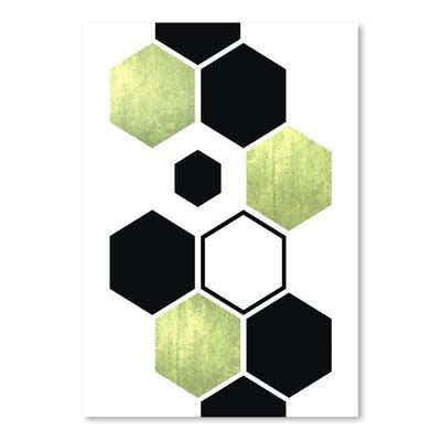 Americanflat Geometric Art 25' by Pop Monica Graphic Art