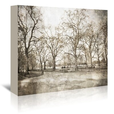 Americanflat 'Hyde Park I' by Golie Miamee Photographic Print Wrapped on Canvas