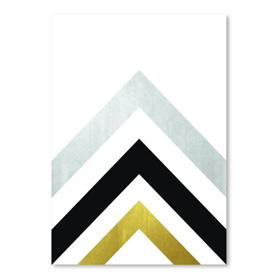Americanflat 'Geometric Art 20' by Pop Monica Graphic Art