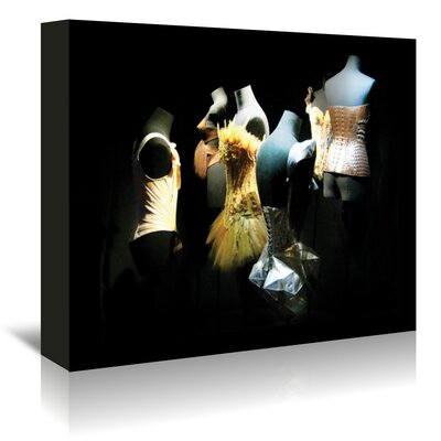 Americanflat Two Silk Corsets' by Golie Miamee Photographic Print Wrapped on Canvas