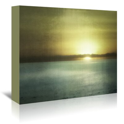 Americanflat 'Sunset in Malibu' by Golie Miamee Photographic Print Wrapped on Canvas
