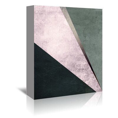 Americanflat 'Geometric Art 1' by Pop Monica Graphic Art Wrapped on Canvas