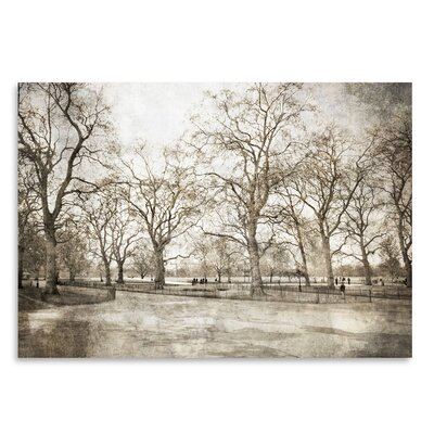 Americanflat 'Hyde Park I' by Golie Miamee Photographic Print