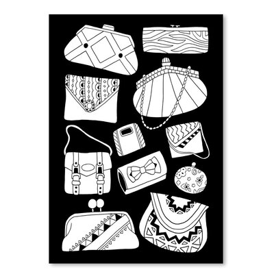 Americanflat 'Pocketbooks' by Advocate Art Graphic Art