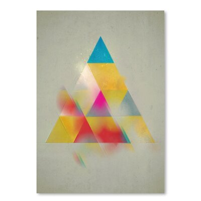 Americanflat 'Try 1' by Spires Graphic Art