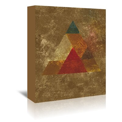 Americanflat 'Try 5' by Spires Graphic Art Wrapped on Canvas