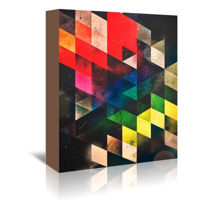 Americanflat 'Lwwsyng Cylyr' by Spires Graphic Art Wrapped on Canvas