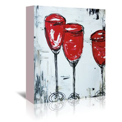 Americanflat 'Vino 33' by Annie Rodrigue Art Print Wrapped on Canvas