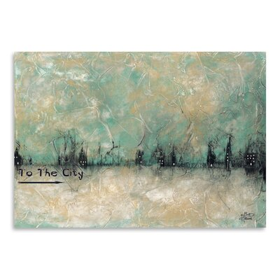 Americanflat 'To the City' by Britt Hallowell Art Print