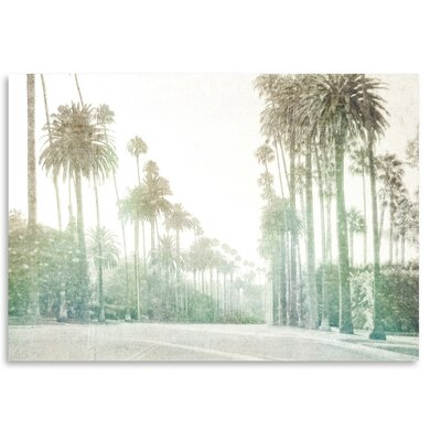 Americanflat 'Driving in Beverly Hills' by Golie Miamee Photographic Print