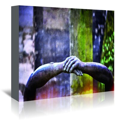 Americanflat Hands of Pere' by Golie Miamee Photographic Print Wrapped on Canvas