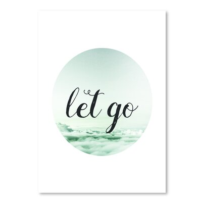 Americanflat 'Let Go' by Pop Monica Typography