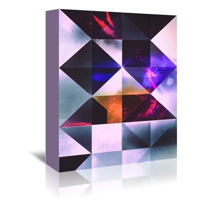 Americanflat 'Whyte Rybbyt' by Spires Graphic Art Wrapped on Canvas
