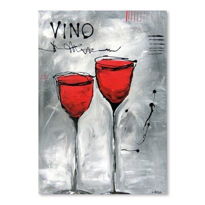 Americanflat Vino 2' by Annie Rodrigue Art Print