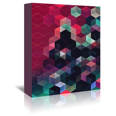 Americanflat Syngwyn Rylyxxn' by Spires Graphic Art Wrapped on Canvas
