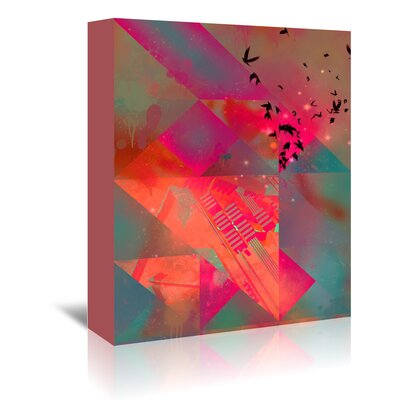 Americanflat Twtyl Flyyt' by Spires Graphic Art Wrapped on Canvas