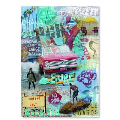 Americanflat 'Beach Bolyz' by Graffi Tee Studios Graphic Art