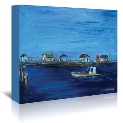 Americanflat 'Returning Fleet' by JJ Galloway Art Print Wrapped on Canvas