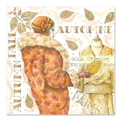 Americanflat 'Autumn Fall' by Advocate Art Graphic Art