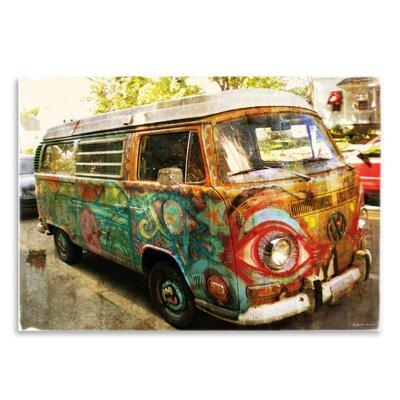 Americanflat 'Surf Bus' by Graffi Tee Studios Photographic Print