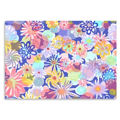 Americanflat 'Floral Blues-1' by Marian Nixon Graphic Art