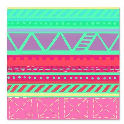 Americanflat 'Beach Babe Stripes' by Cara Kozik Graphic Art
