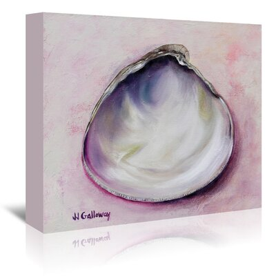 Americanflat 'Clam Season' by JJ Galloway Art Print Wrapped on Canvas