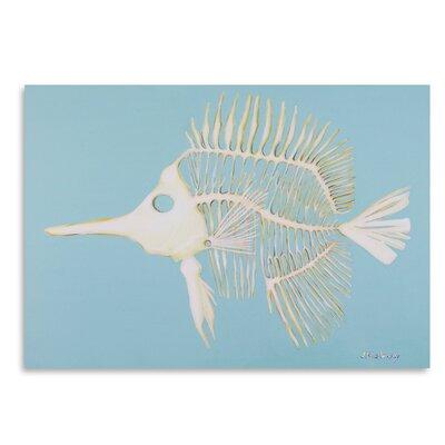 Americanflat Longnosed Butterfly Fish Bones' by JJ Galloway Art Print