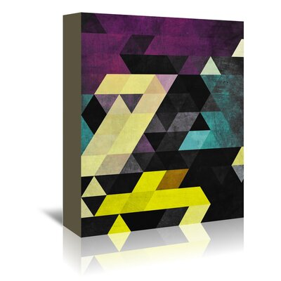 Americanflat Scrytch Tyst' by Spires Graphic Art Wrapped on Canvas