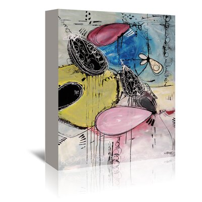 Americanflat 'Motus Du Bubble Gomme' by Annie Rodrigue Art Print Wrapped on Canvas