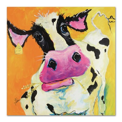 Americanflat 'Cow' by Terri Einer Art Print