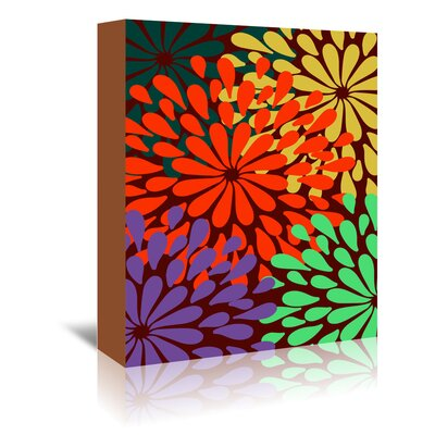 Americanflat 'Bee Garden' by Ramneek Narang Graphic Art Wrapped on Canvas