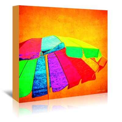 Americanflat 'Colorful Shade' by Graffi Tee Studios Art Print Wrapped on Canvas
