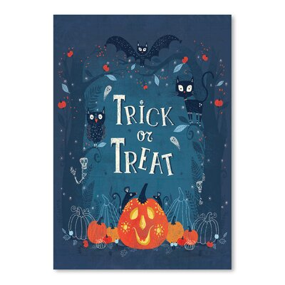 Americanflat 'Trick or Treat' by Advocate Art Graphic Art