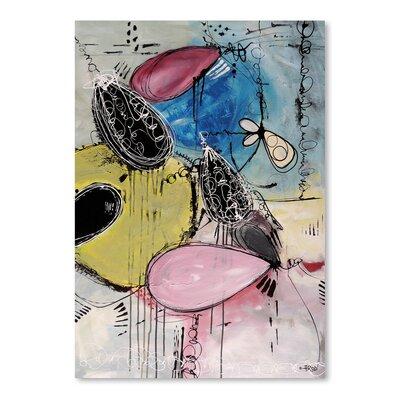 Americanflat Motus Du Bubble Gomme' by Annie Rodrigue Art Print