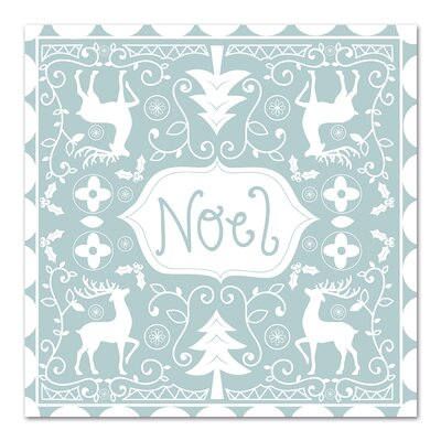 Americanflat 'Noel' by Advocate Art Graphic Art
