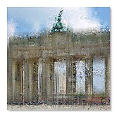 Americanflat 'City Art Berlin Brandenburg Gate' by Melanie Viola Graphic Art