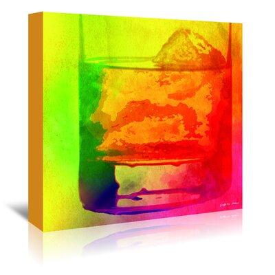 Americanflat 'Rocks Rainbow' by Graffi Tee Studios Art Print Wrapped on Canvas