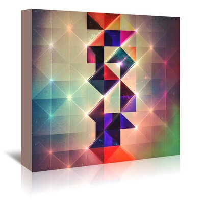 Americanflat 'Lyyht Styp' by Spires Graphic Art Wrapped on Canvas