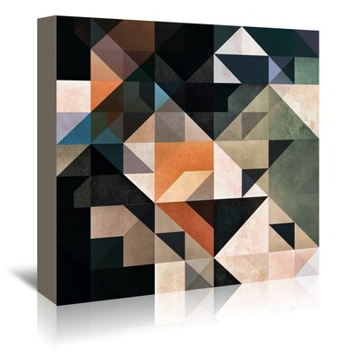 Americanflat Smwwth Fyll' by Spires Graphic Art Wrapped on Canvas