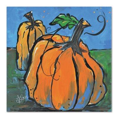 Americanflat 'Pumpkins at Twilight' by Terri Einer Art Print