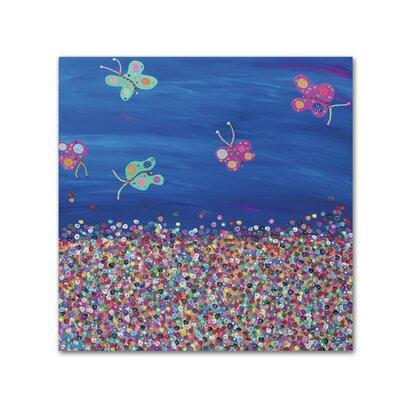 Americanflat 'Butterflies are Free' by Helen Joynson Art Print