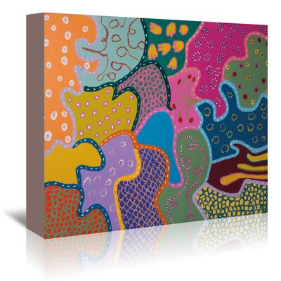 Americanflat 'Patterns of Another Galaxy' by Helen Joynson Art Print Wrapped on Canvas