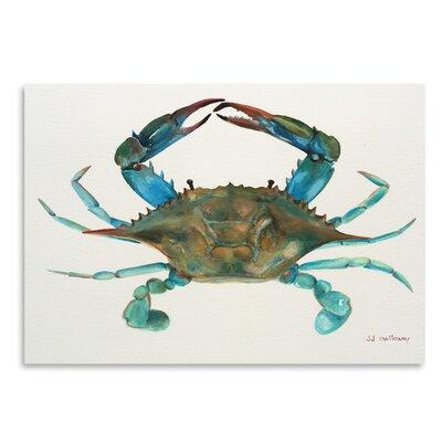 Americanflat 'Blue Crab' by JJ Galloway Art Print